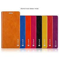 """Nokia Lumia 640 XL оригинальный чехол книжка ИЗ НАТУРАЛЬНОЙ КОЖИ кожаный для телефона """"IMK MODERN"""""""
