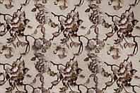 Мебельная ткань Камелия беж  велюр (производство Мебтекс)