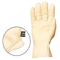 Перчатки кожаные, утепленные LABRADOR, размер 9