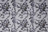 Мебельная ткань Камелия грей  велюр (производство Мебтекс)