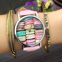 Часы Macaron watch (pink)
