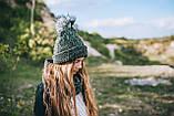 Детская шапка (набор) ДЖОРДЖИЯ для подростков оптом р. 52-54, фото 2