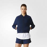 Олимпийка женская Adidas Moonwashed Bomber короткая AZ1482