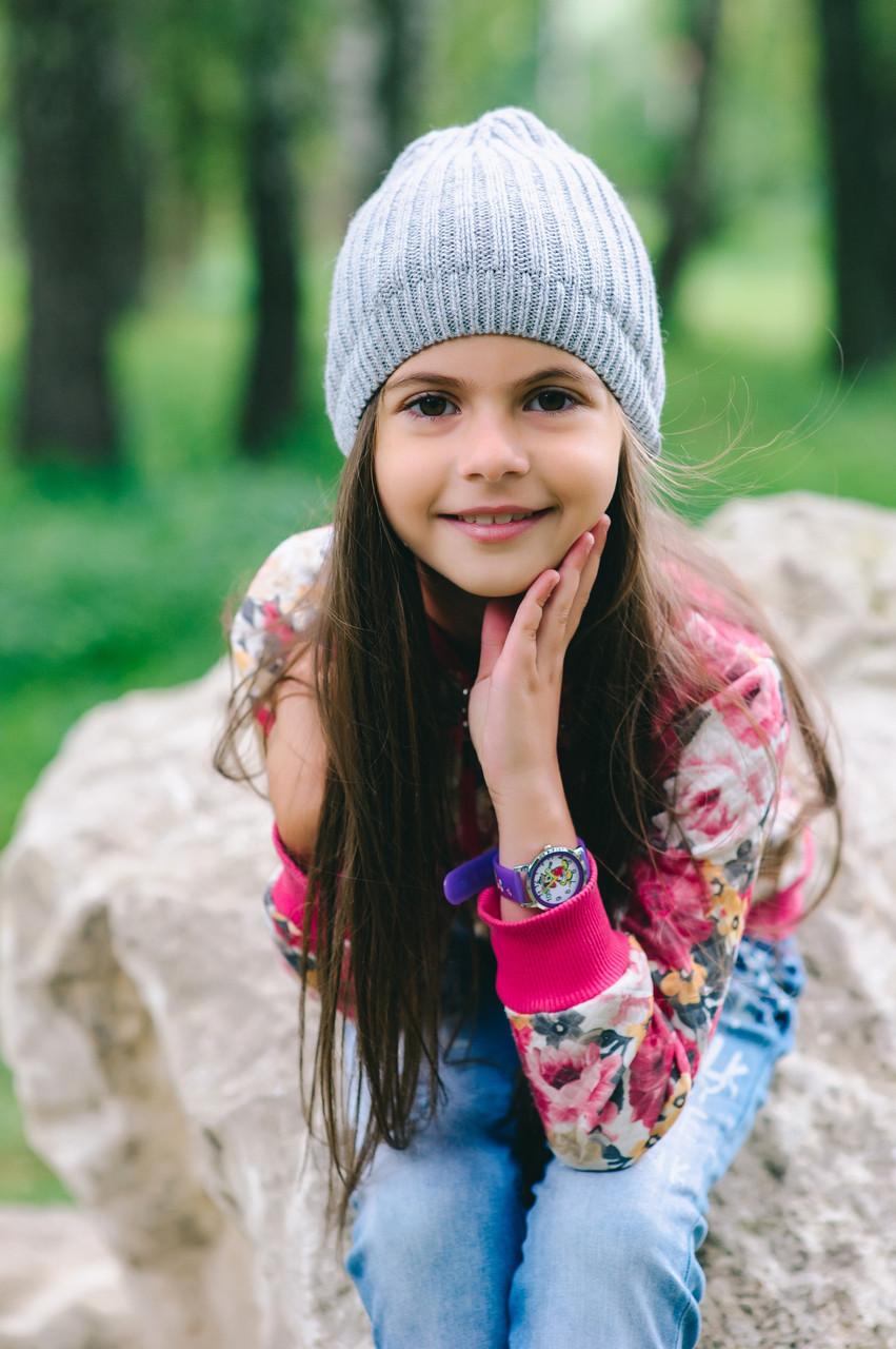 Детская шапка (набор) БЕЙЛА для девочек оптом размер