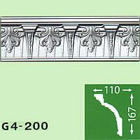 Профиль потолочный багет Baraka Decor Grand G4-200 (167*110)