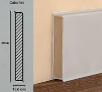 Плинтус МДФ для офиса Cubu flex 80mm серый
