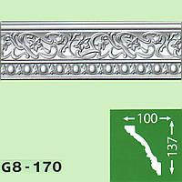 Профиль потолочный багет Baraka Decor Grand G8-170 (137*100)