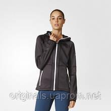 Флисовая толстовка женская Adidas Hooded с капюшоном AP8747
