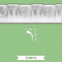 Потолочный плинтус Baraka Decor 12/2140 (120*74) 2м