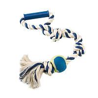 Игрушки на веревочке для собак