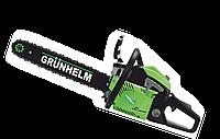 Цепная бензопила GRUNHELM GS52-18 PROFESSIONAL, 1 шина / 1 ланц, 52см3, 3,1кВт, вес 5,5кг