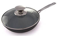 Сковорода 22*4,5 см (алюминий+керамика) Lessner Ceramiс Line  88335-22