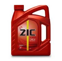 Моторное масло ZIC X3000 15W-40  4л