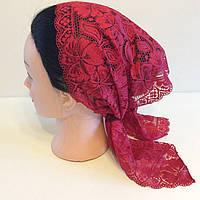Кружевные платки на голову
