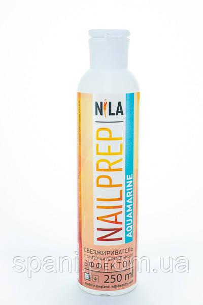 Nila Nail Prep (Аквамарин) Обезжириватель с антибакт.эффектом, 250 мл.