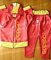 Детский спортивный костюм двунить размер 28 для девочки