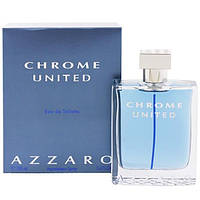 Azzaro Chrome United 100Ml Tester Edt