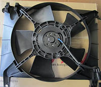 Вентилятор радиатора Авео основной.цена вентилятора Авео 1.5., фото 1