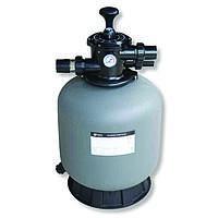 Фильтр для механической очистки воды EMAUX V400 мотанный стекловолоконом с верхним подключением