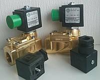 Электромагнитный клапан 21W7ZE(V)500, Италия, непрямого действия NА (НА, нормально открытый), фото 1