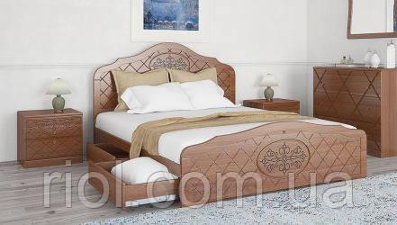 Кровать двуспальная Лючия ТМ Неман