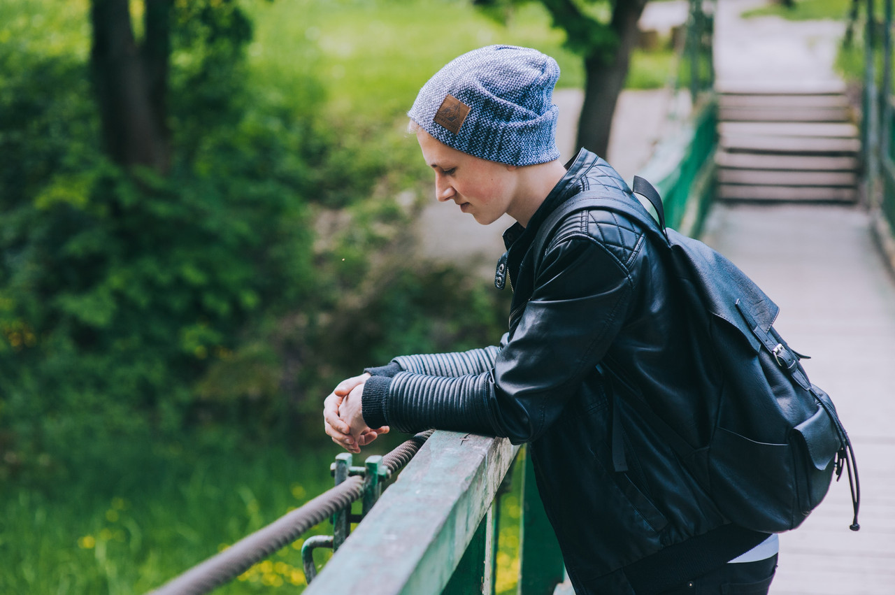 Шапка РЭННЕР для подростков оптом