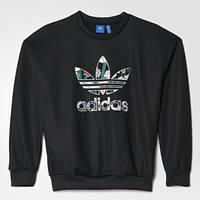 Джемпер женский Adidas Trefoil Sweater AY7963 черный