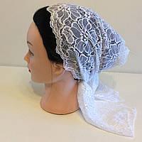 Кружевной шарф на голову