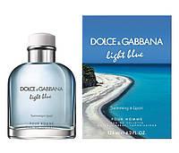 Dolce & Gabbana Light Blue  Men Swimming In Lipari 40Ml   Edt