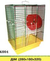 ДОМ клетка для грызунов цинк 180х280х320