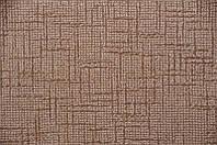 Мебельная ткань Камелия браун комб  велюр (производство Мебтекс)