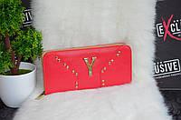 Кошелек Yves Saint Laurent (Ив Сен-Лоран) красный., фото 1
