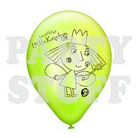 """Воздушные шары пастель ассорти Бен и Холли 12""""(30 см), 100 шт"""