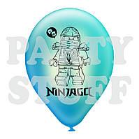 """Воздушные шары ассорти пастель Ниндзяго 12""""(30 см), 100 шт"""