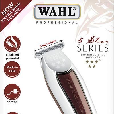 Машинка для стрижки волос Wahl Detailer Wide 4150-0480 (08081-916)