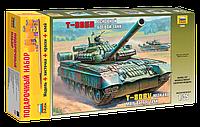 Подарочный набор сборная модель Zvezda (1:35) Основной боевой танк Т-80БВ