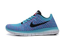 Кроссовки женские Nike Free Run Flyknit 5.0 Magasin Blue