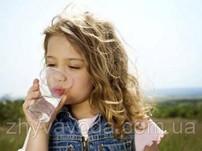 """вода """"Живая вода"""", акция здоровый ребенок"""