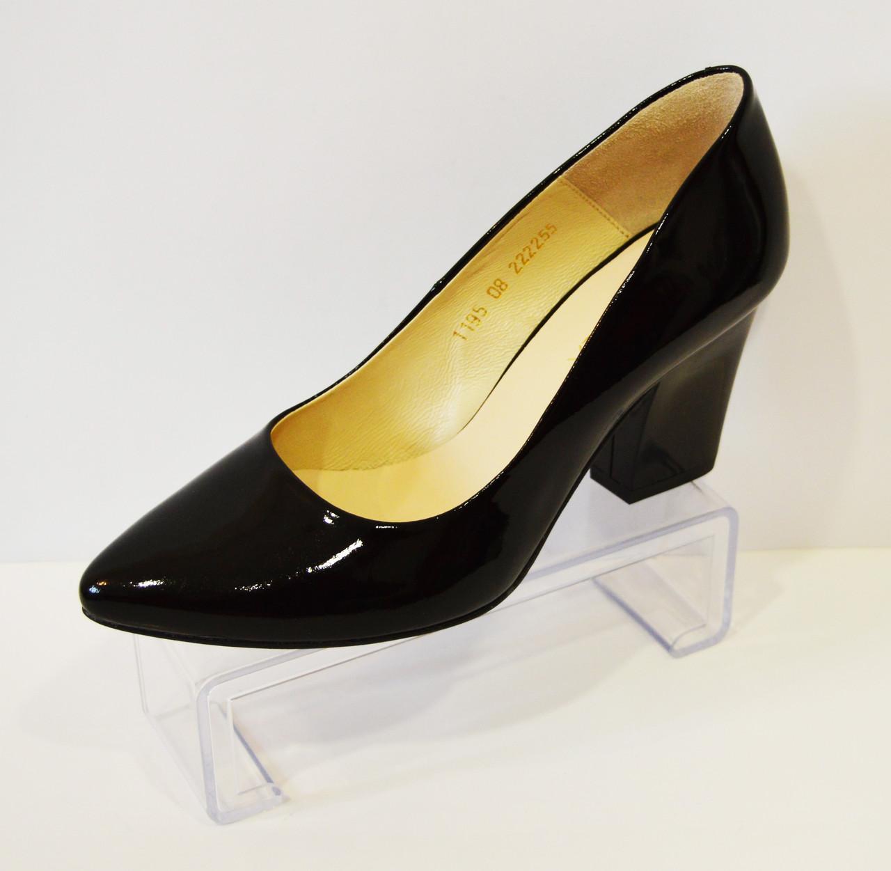 Туфли женские лакированные Vanilla