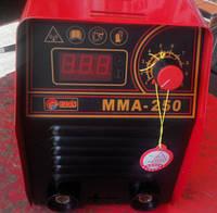 Инверторный сварочный аппарат Edon ММА-250 mini табло(кейс)