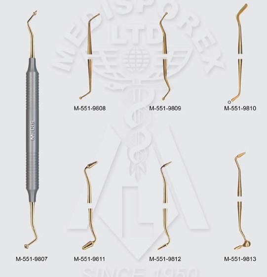 Инструмент реставраций по композиту с нитрид титановым покрытием, Пакистан NaviStom