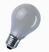 Лампа накаливания General Electric 60A1/F/E27 240V A50 матовая (Венгрия)