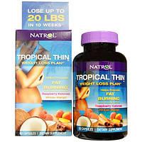 Программа по снижению веса с кетонами малины и африканским манго, Natrol, 60 капсул