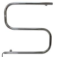 Электрический полотенцесушитель Змейка-S от производителя Элна из нержавеющей стали