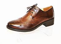 Туфли женские из кожи козы Lan-Kars 454