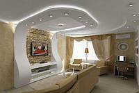 Гипсокартоновые подвесные потолки