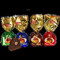 Шоколадные конфеты Мама Женя Атаг с цельным и меленым   фундуком