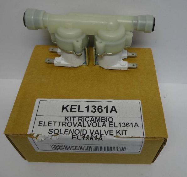 Соленоидный клапан EL1361A / KEL1360 для пароконвектоматов Unox XB, XVC, XBC и др.