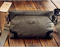 Мужской клатч-сумка  Armani (GA001) khaki
