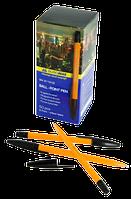 Ручка шариковая BUROMAX 8119-02 Оранж чорная